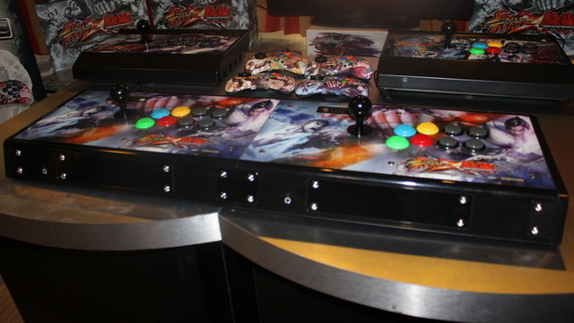 Arcade Sticks Get Social With Linkable Street Fighter X Tekken Controllers Ars Technica