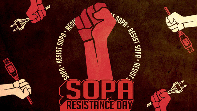 Sopa Resistance Day Begins At Ars Ars Technica