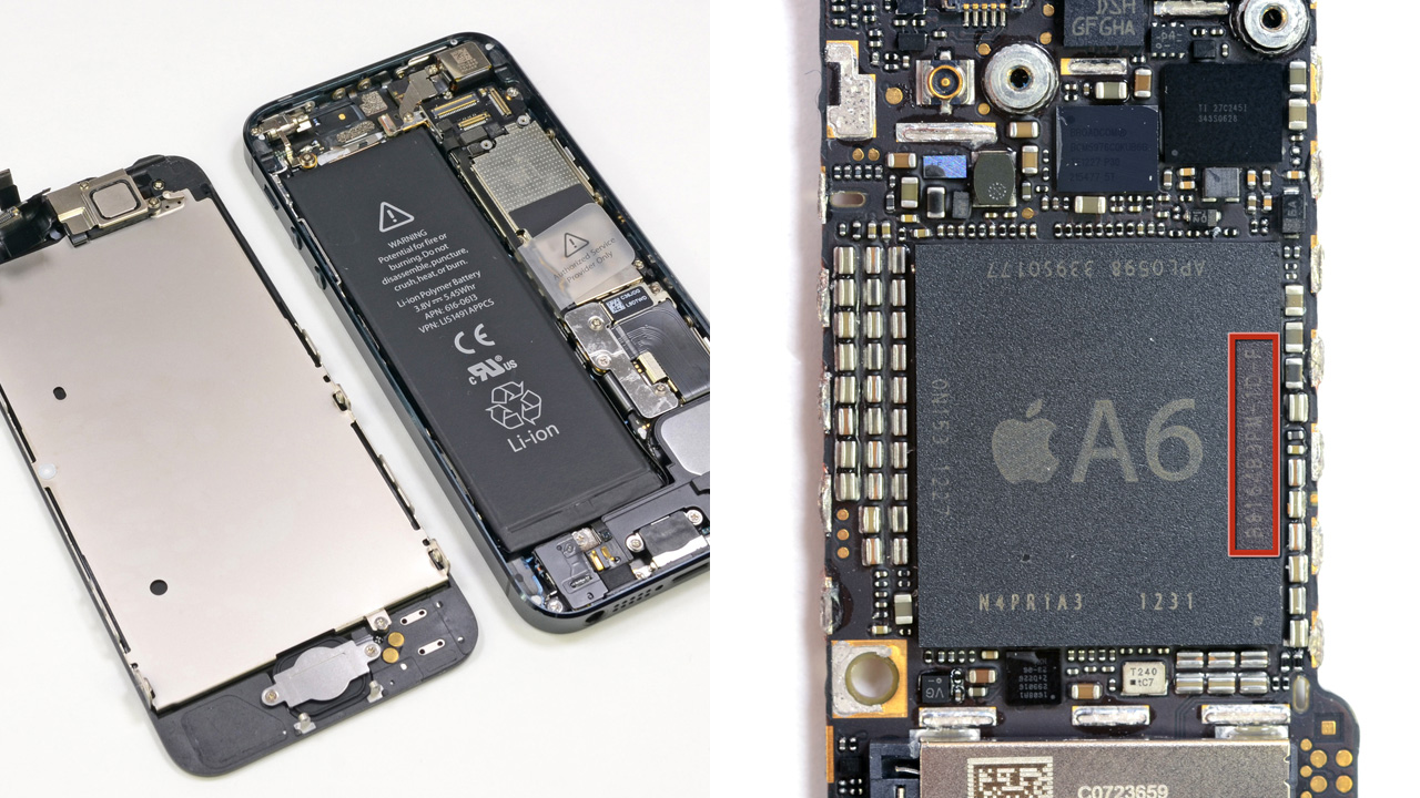 IPhone 5 Deconstructed: Packed With Power-efficient Parts