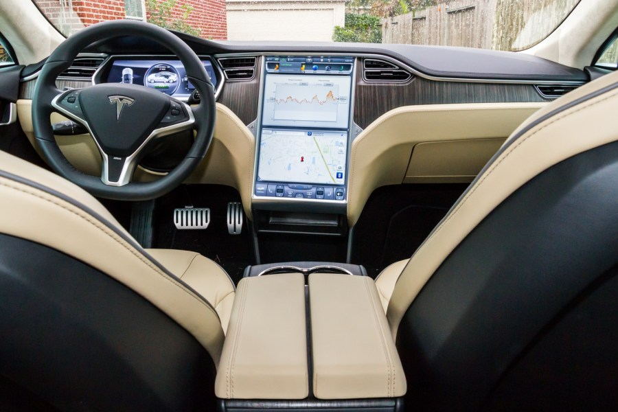 Review  Tesla Motors  all electric Model S is fast   but is it a good     Enlarge