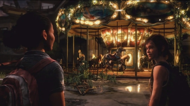 "Image result for The Carousel Ride ""The Last of Us: Left Behind"