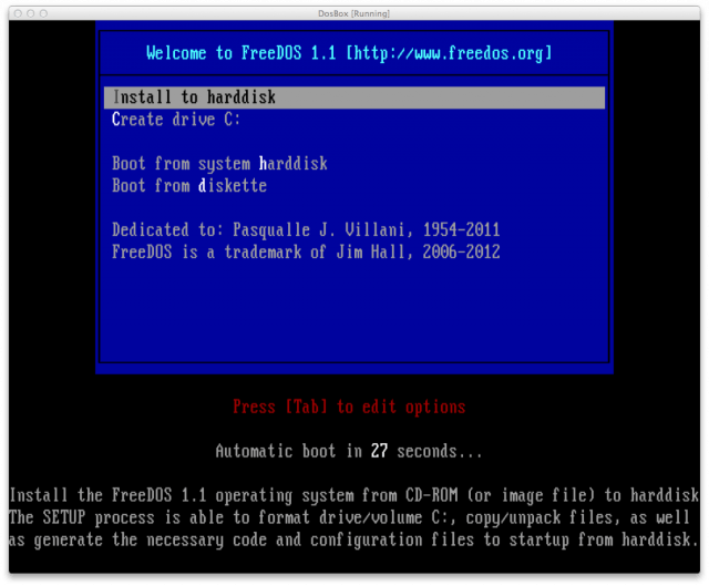 Old School I Work In Dos For An Entire Day Ars Technica