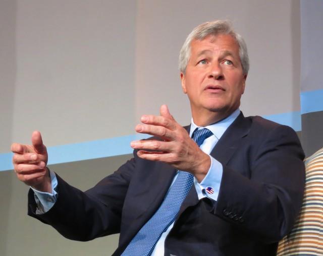 JPMorgan Chase CEO Jamie Dimon.