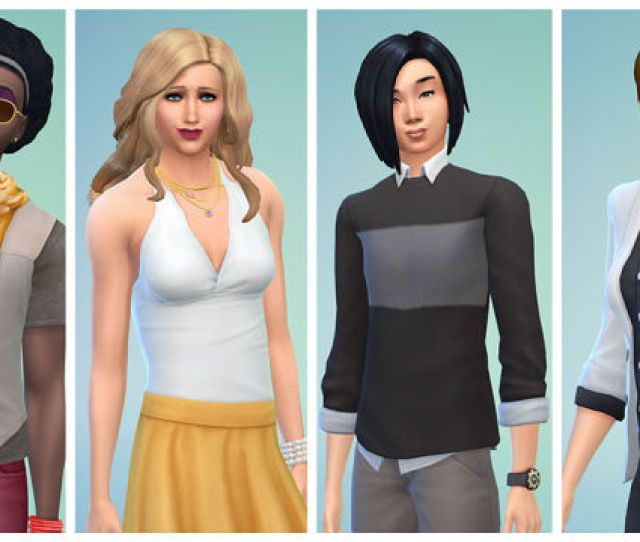 Heels On Male Sims Short Hair And Suits On Females Maxis Says You Can