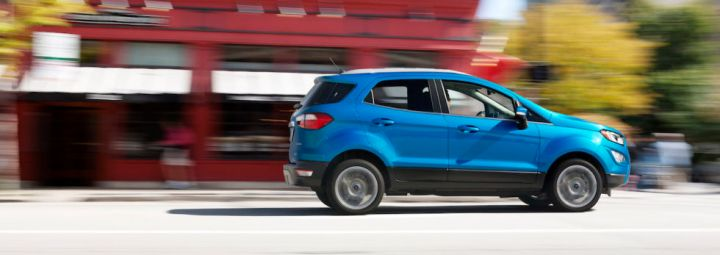 Say hello to the littlest Ford SUV, the EcoSport. If you're the kind of person who would rather spend your money on experiences than stuff, Ford thinks this is the vehicle for you.