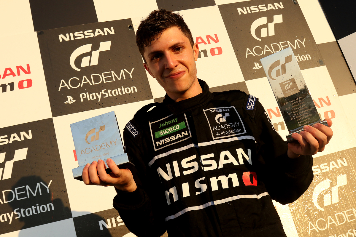 Mexico's Johnny Guindi Hamui won the 2016 Nissan PlayStation GT Academy at the end of October.