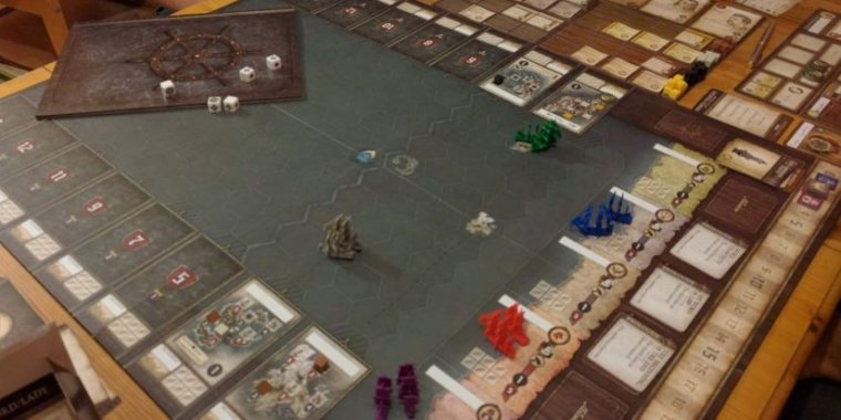 SeaFall Review Hotly Anticipated Board Game Is A Work Of