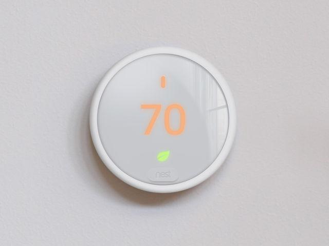 The Nest Thermostat E.