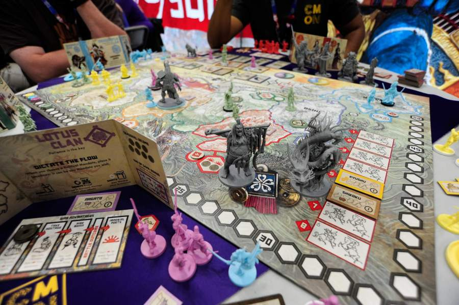 The hottest new board games from Gen Con 2017   Ars Technica Arguably the best looking game at Gen Con 2017  Rising Sun is the latest  big box strategy game from prolific designer Eric Lang