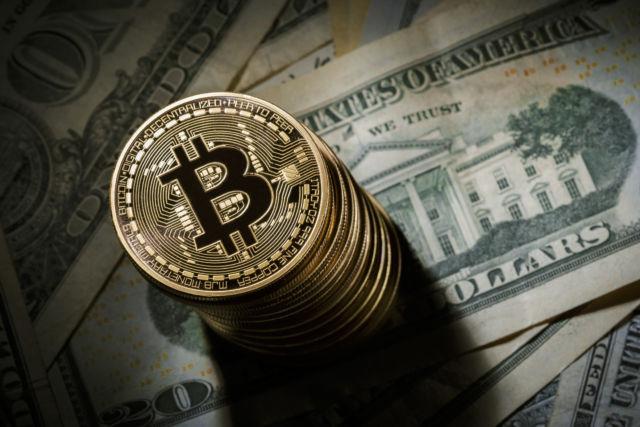 Bitcoin and cash.