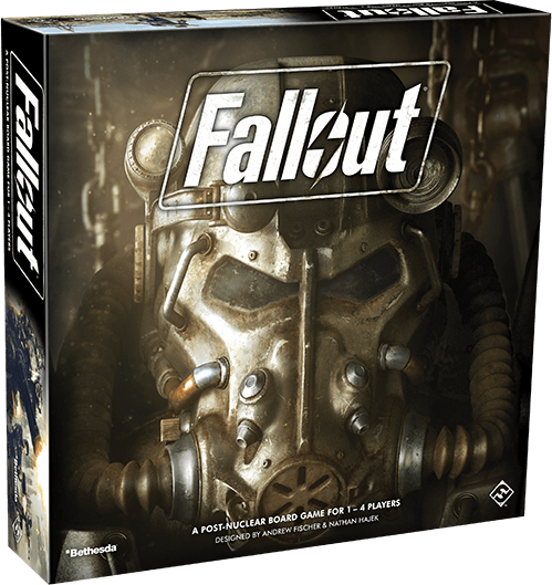 """Is it better to be alone than in bad company? We'll find out once we learn more about the co-op specific parts of the Fallout board game in """"Q4 2017."""""""