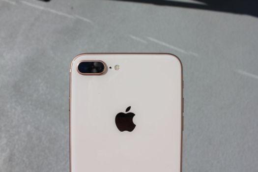 The iPhone 8 Plus has a dual-camera setup.