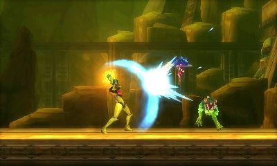 Metroid  Samus Returns is a return to form for 2D adventuring   Ars     You ll be whacking a lot of charging enemies with well timed melee attacks  in this game