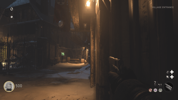 """Call of Duty: World War II looks solid in 4K, particularly when running at a locked 60 fps refresh. Here's its """"Nazi Zombies"""" mode."""
