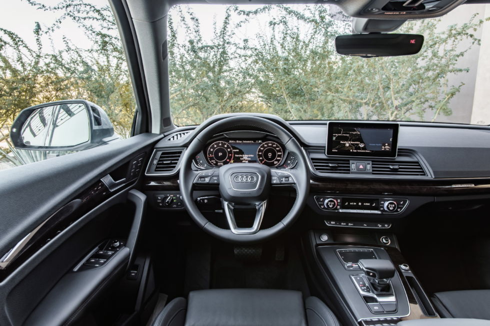 What you see from the driver's seat