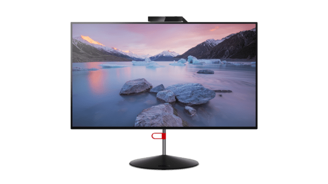 Lenovo ThinkVision X1. It looks like a normal monitor from the front.