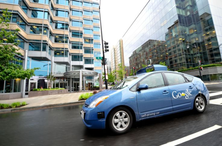 A Google self-driving car, built on a modified Toyota Prius, combines information gathered from Google Street View with artificial intelligence software that gathers input from video cameras inside the car, a lidar sensor on top of the vehicle, radar sensors on the front of the vehicle and a position sensor attached to one of the rear wheels that helps locate the car's position on the map.