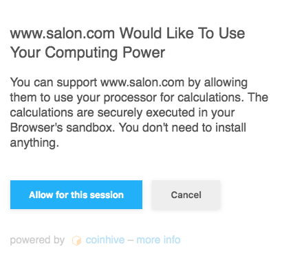 Salon's