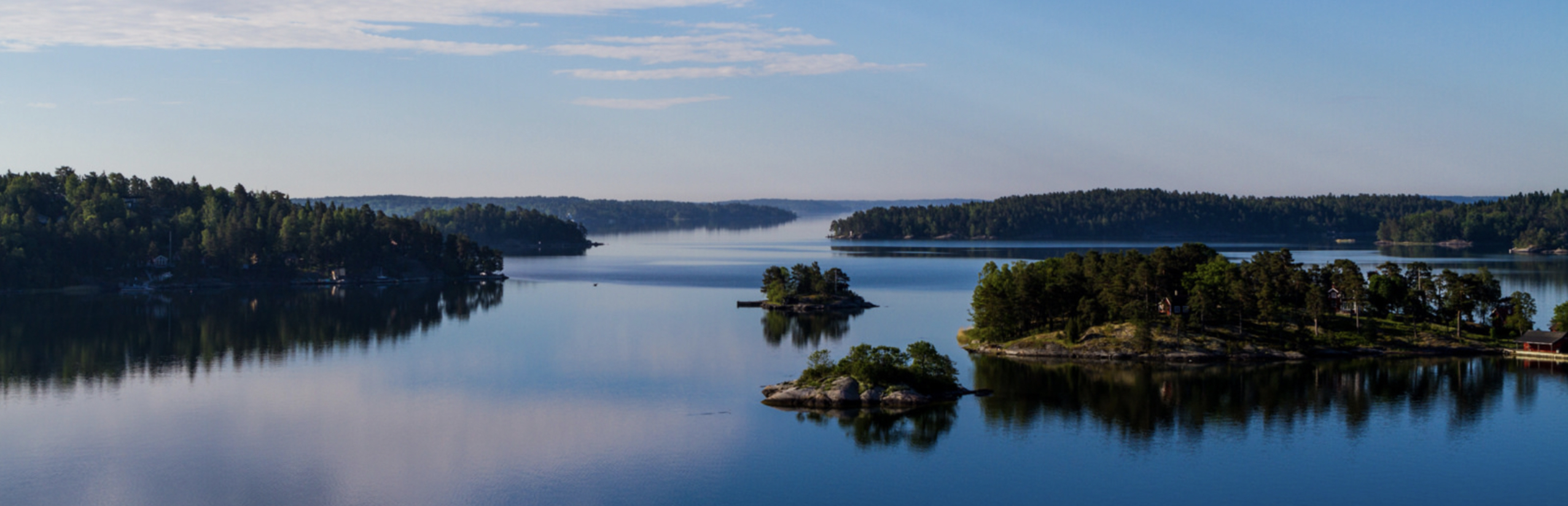 Nowhere to be seen: Stockholm's E4 bypass will tunnel under the straits of its archipelago.