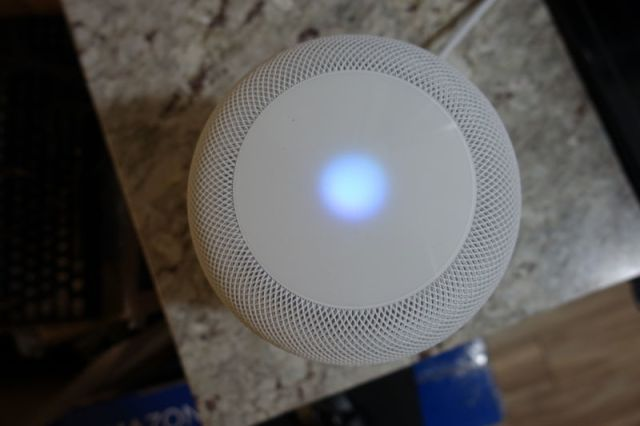 Image of a HomePod