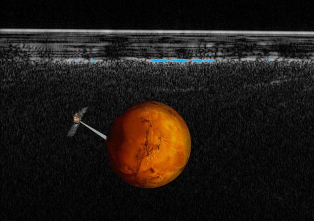 a46e3cb262 Possible lake spotted under a polar ice cap—on Mars – News Asia CF