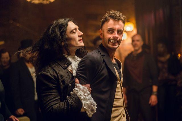 Eccarius (Adam Croasdell) turns on Cassidy (Joseph Gilgun) when the latter threatens to expose his treachery.