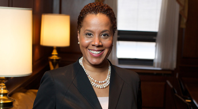 Leecia Eve, a Verizon lobbyist and candidate for New York Attorney General.