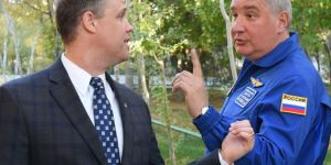 The Russian space chief loves the latest US restrictions