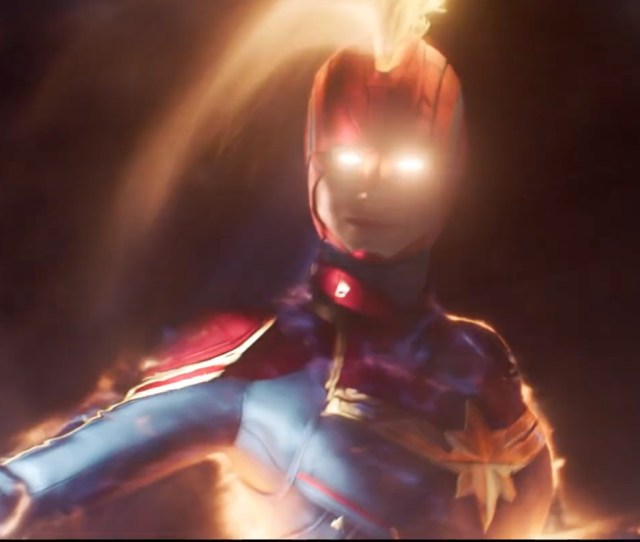 Neither Bird Nor Plane Captain Marvel Blasts Into Space In New Trailer