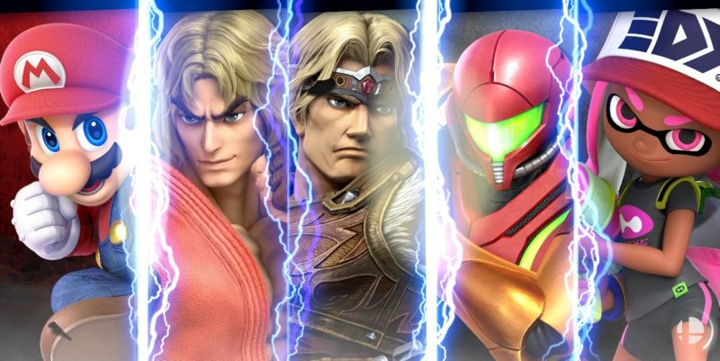 Five of <em>Super Smash Bros. Ultimate</em>'s 74 combatants. There's a lot to talk about—and a lot to love.