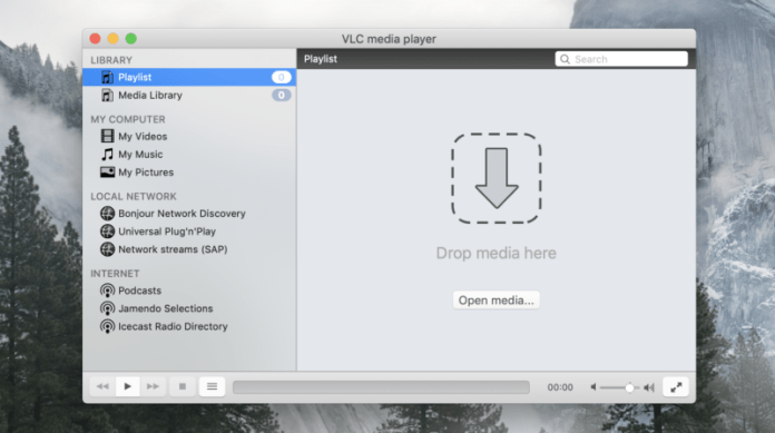 VLC on the Mac.