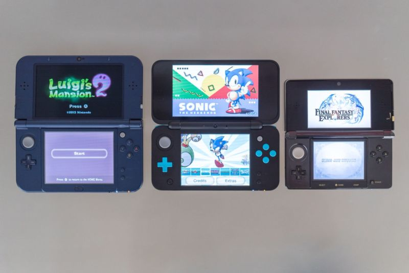 Just a few of the many 3DS hardware options still being supported by Nintendo.