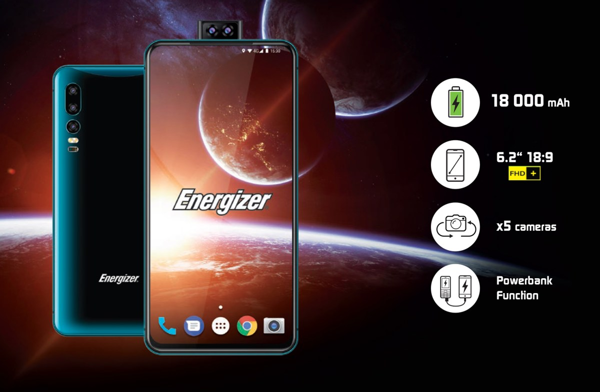 "Energizer's brick of a smartphone uses ""world's most powerful ..."