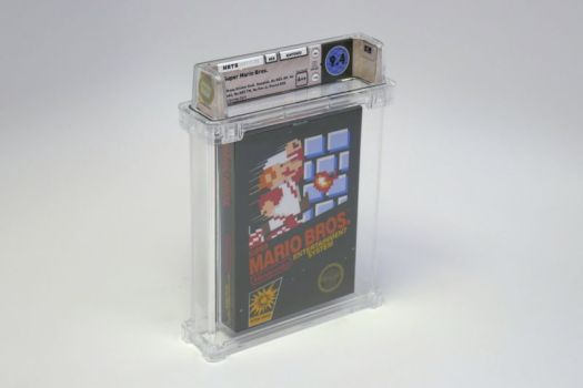 Of the millions of copies of <em>Super Mario Bros.</em> ever sold, this is the rarest and most valuable known to exist.