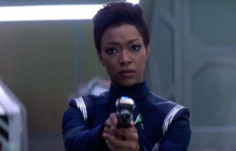 <em>Discovery</em> lead Sonequa Martin-Green as Starfleet officer Michael Burnham.