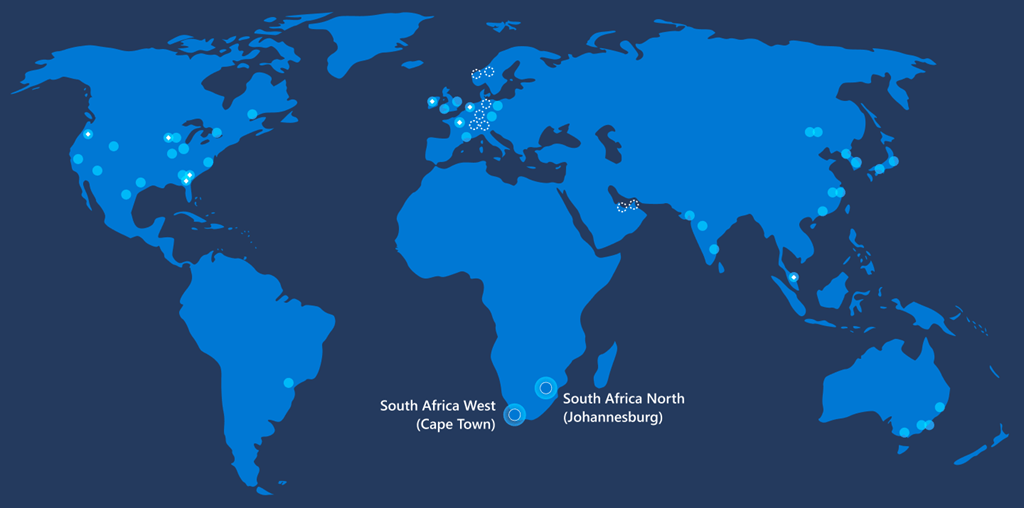 Microsoft Is First Major Cloud Provider To Open African