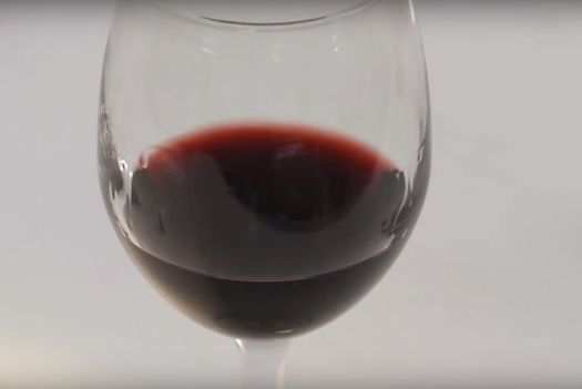 Wine tears are due to a difference in surface tension across the top of the wine, resulting from the alcohol evaporating faster than the water in the wine.