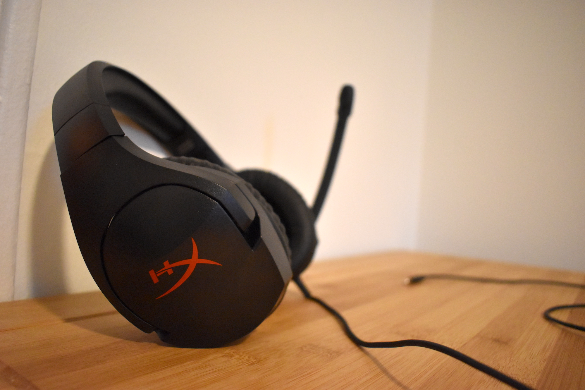 Kingston's HyperX Cloud Stinger gaming headset.
