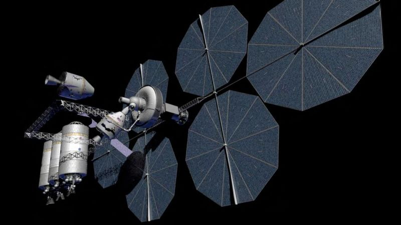 NASA concept for an in-space propellant depot.