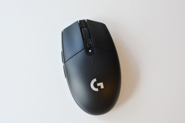 Logitech's G305 Lightspeed gaming mouse.