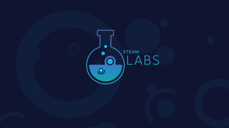 The new recommendation engine is part of a new experimental Steam Labs branding.
