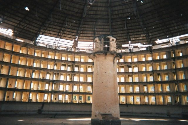 Like this prison in Cuba, the NSA has turned the Internet into a place where the watchmen can see all and exploit the shoddy privacy of Internet services prior to Snowden.