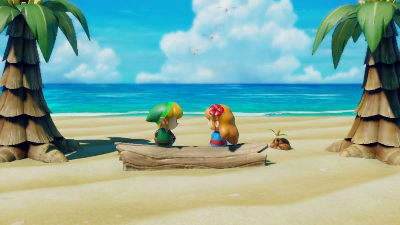 Welcome back to Koholint Island, the world of <em>Link's Awakening</em>, newly reborn as a lively, plasticky world of toys.
