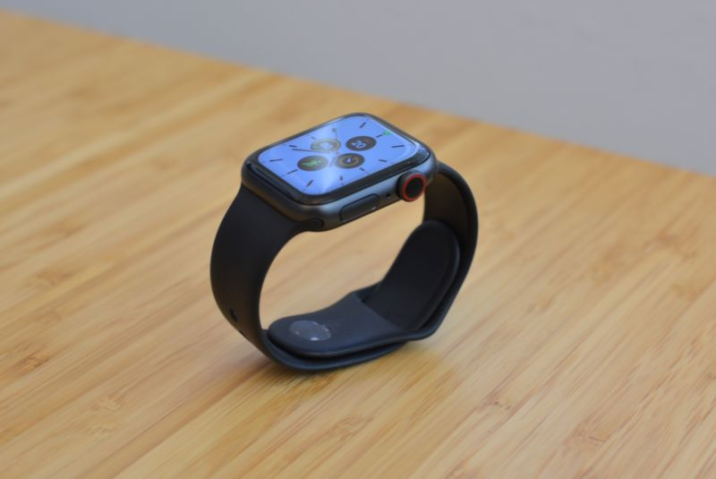 The new Apple Watch Series 5.