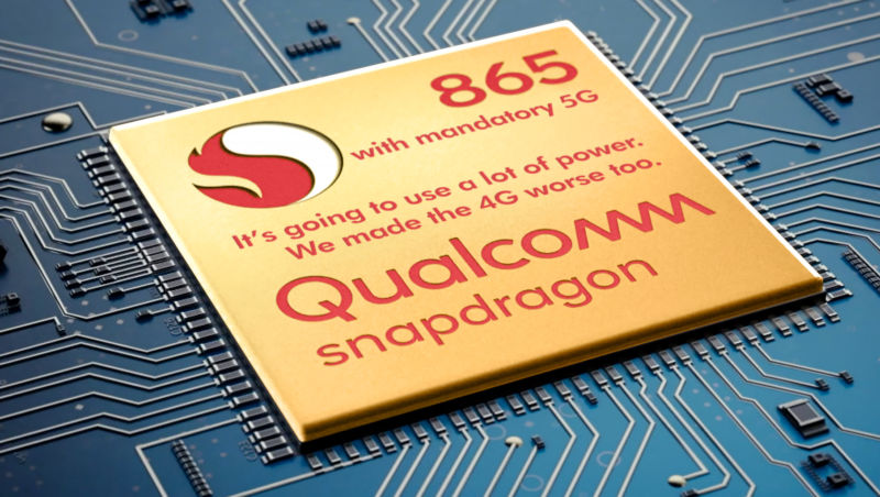 A more accurately labeled Snapdragon 865.