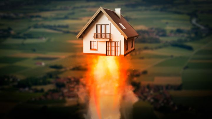 Artist's impression of how fast your house might one day be with 5G mobile broadband.