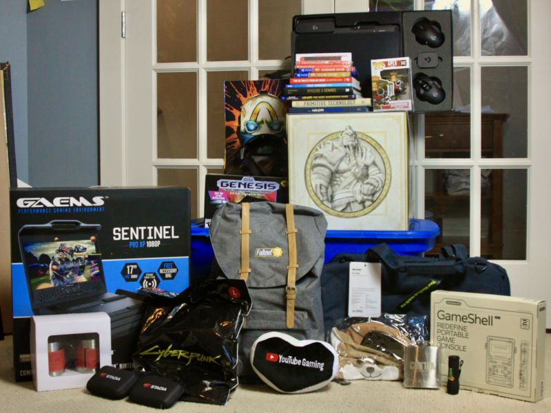 Just some of the prizes you could win by entering our Charity Drive sweepstakes.
