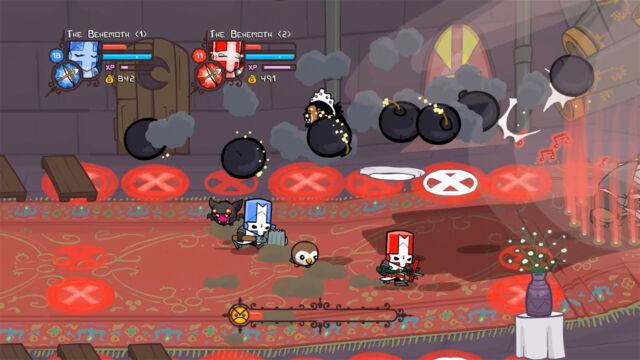 <em>Castle Crashers Remastered</em> is simple brawler fun.