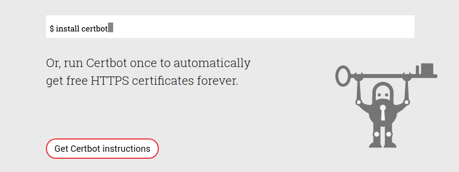 Let's Encrypt offers anybody who wants one a free SSL certificate, good for 90 days. Certbot renews and re-deploys that free certificate every 30 days.