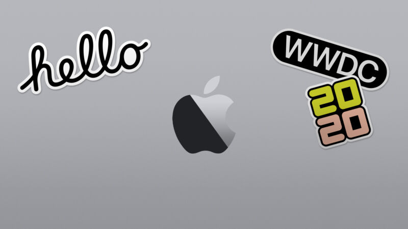 Apple's header graphic for this year's WWDC event.